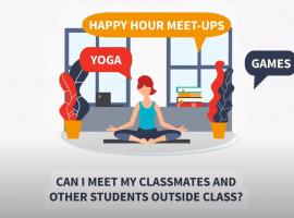 What happens outside of class hours?